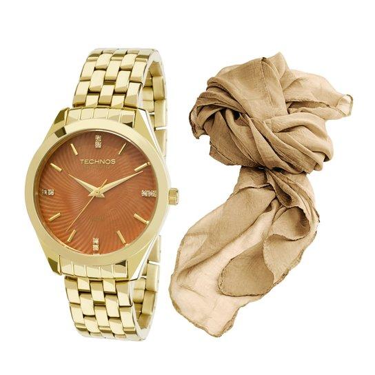 Relógio Technos St.Moritz 2036LOV K4M Feminino - Dourado - Compre ... 990a880bf8
