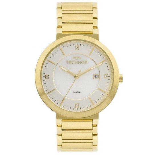 9c26f519174 Relógio Technos St.moritz 2115KTL 4B Feminino - Dourado - Compre ...
