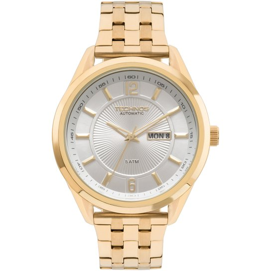 b05b94012ba Relógio Technos Analógico 8205NL4K Masculino - Dourado - Compre ...