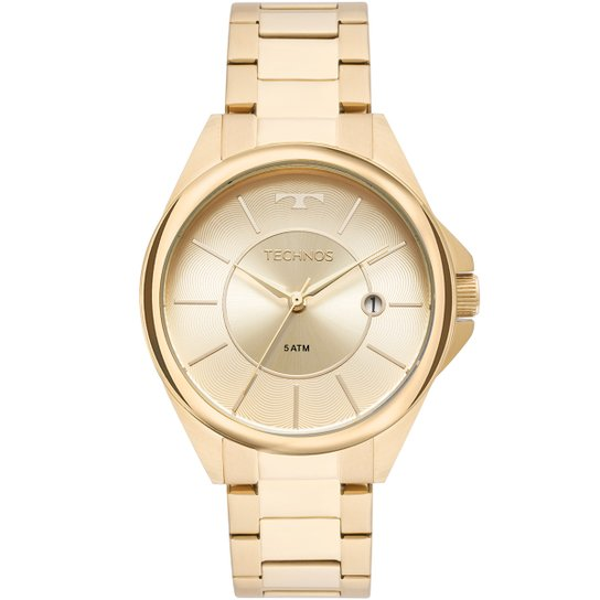 b103e5722b209 Relógio Technos Analógico 2115MOO 4X Feminino - Dourado - Compre ...