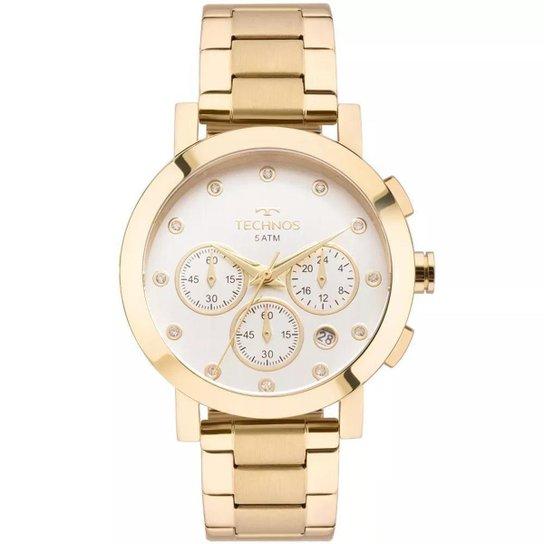 3771bf6bbe6 Relógio Feminino Technos OS2ABI 4K Aço - Compre Agora