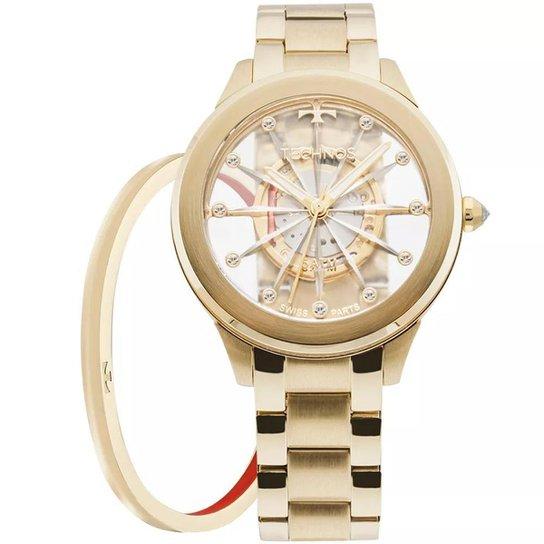 8e36abfe6a9 Relógio Feminino Technos Elegance F03101AA K4W Aço - Compre Agora ...