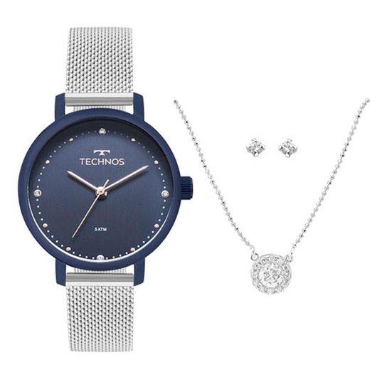 596364b87fe Kit Relógio Feminino Technos Fashion 2035Mmn K5a - Compre Agora ...