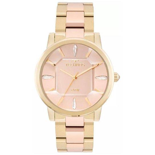0ad1c06c551 Relógio Feminino Technos Elegance Crystal 2039Bs 4 - Dourado ...