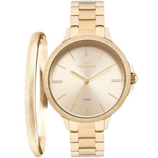 Relógio Technos Feminino Fashion Trend - 2035MMC K4X 2035MMC K4X - Dourado 1e90009cbc