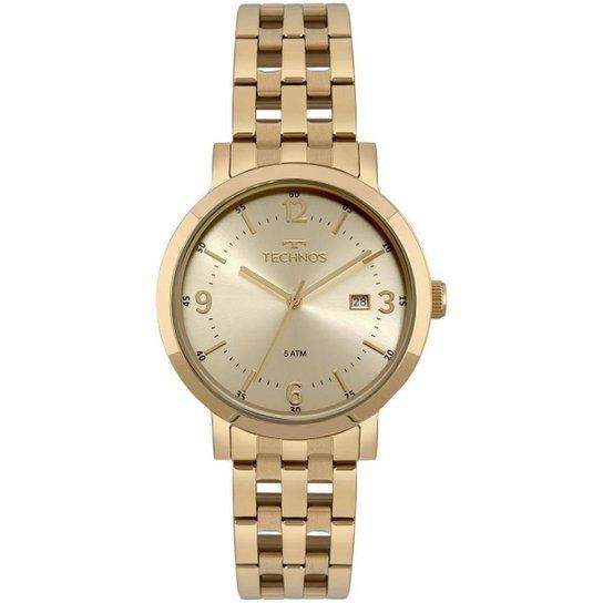 949dfb4f46f Relógio Technos Feminino Dress - 2115MPG 4X 2115MPG 4X - Compre ...