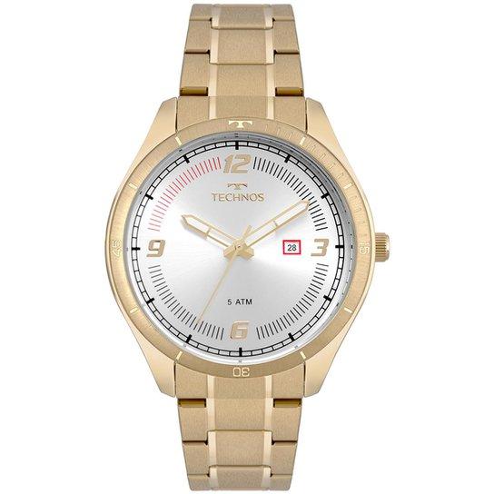 61063a7f47d Relógio Technos Masculino Racer - 2115MPC 4K 2115MPC 4K - Dourado ...