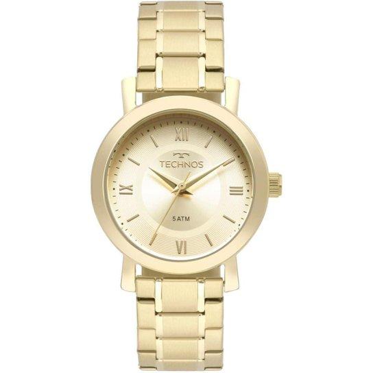 3a2e2b96e4b Relógio Technos Feminino Boutique - 2035MMS 4X 2035MMS 4X - Dourado ...