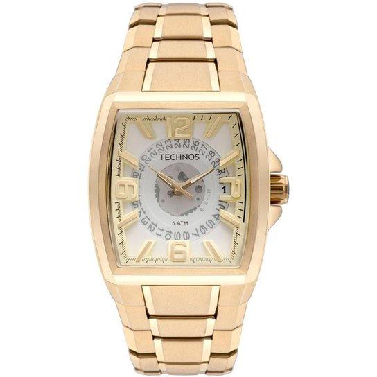 fdc2ebc3db008 Relógio Technos Masculino Skymaster Dourado - AS37AC 4K AS37AC 4K - Dourado