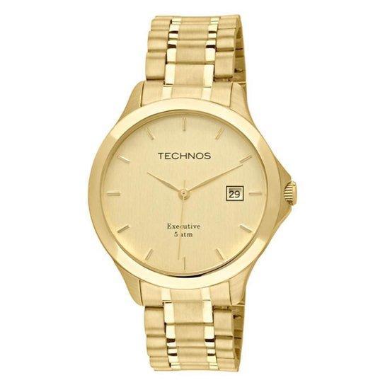 a058053b95442 Relógio Technos Masculino Steel 1S13BWTDY 4X 1S13BWTDY 4X - Dourado ...