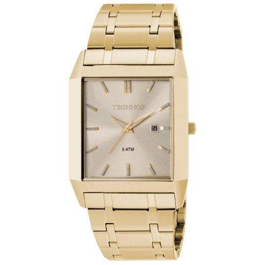 cd5c8af6aae Relógio Technos Masculino Dourado - 1N12AJ 4X 1N12AJ 4X - Compre ...