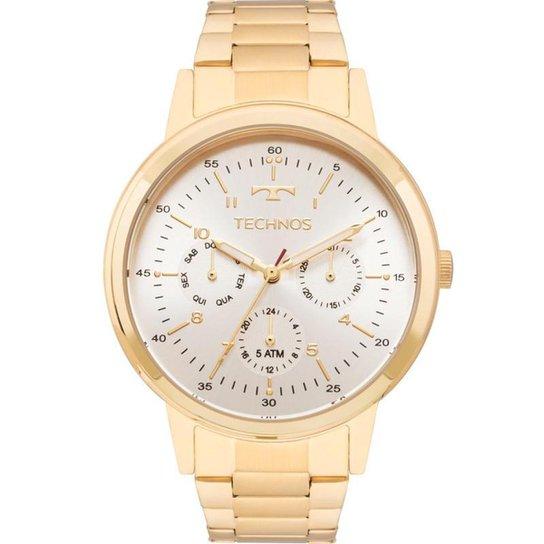 5811cde1f18 Relógio Technos 6p29ajf 4b Feminino - Dourado - Compre Agora