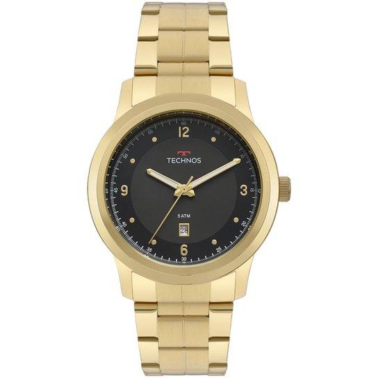 8605ec20f94 Relógio Technos Masculino Steel - Dourado - Compre Agora