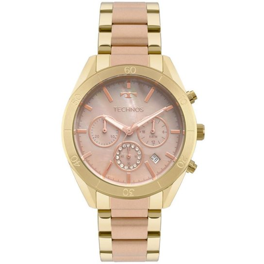 55d6904af47 Relógio Technos Feminino Ladies - Dourado - Compre Agora
