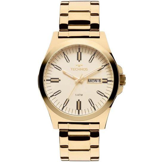 c9ba6e91a67 Relógio Technos Steel Masculino - Dourado - Compre Agora