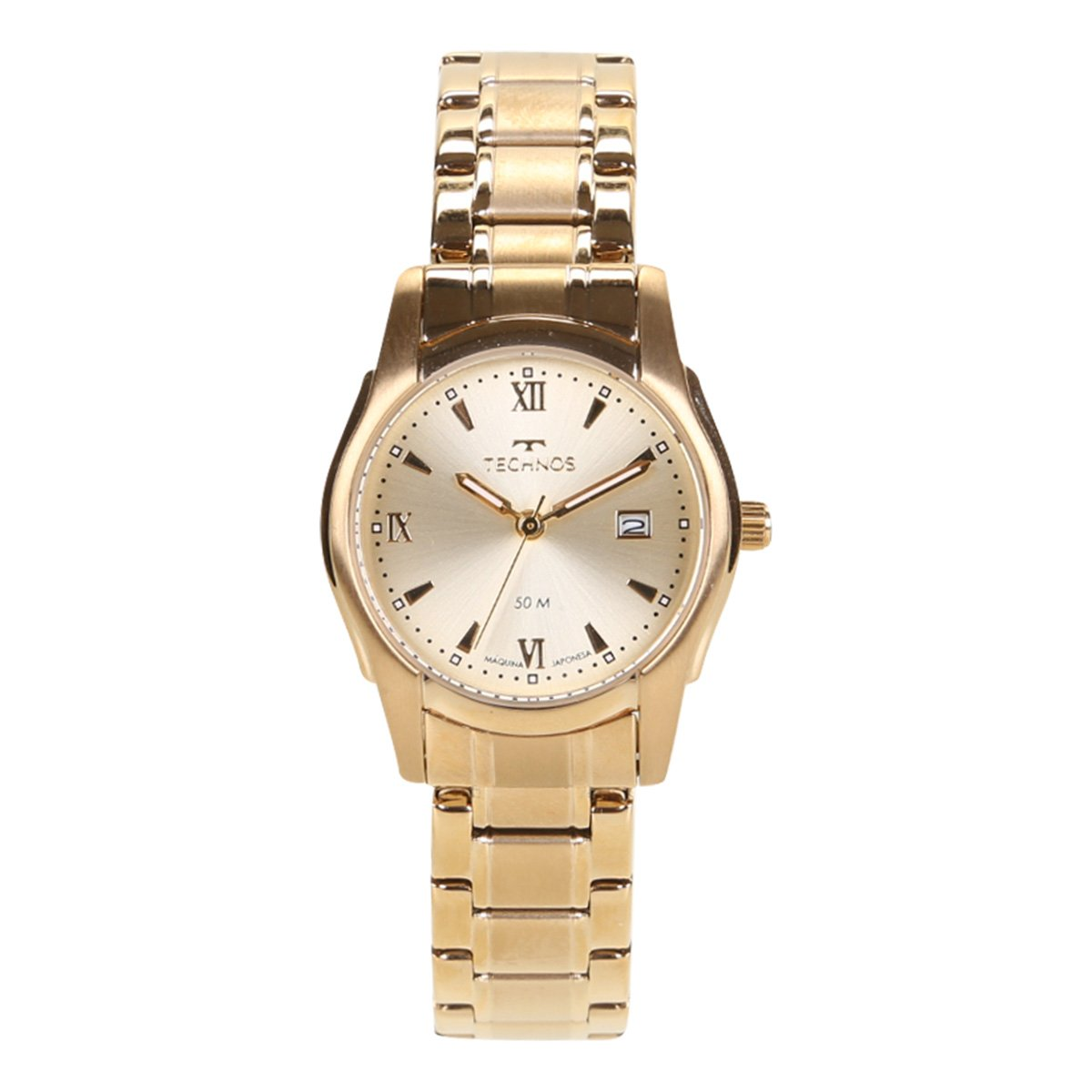 Relógio Analógico Technos Classic Steel Pequeno 2015BYPBOW Feminino
