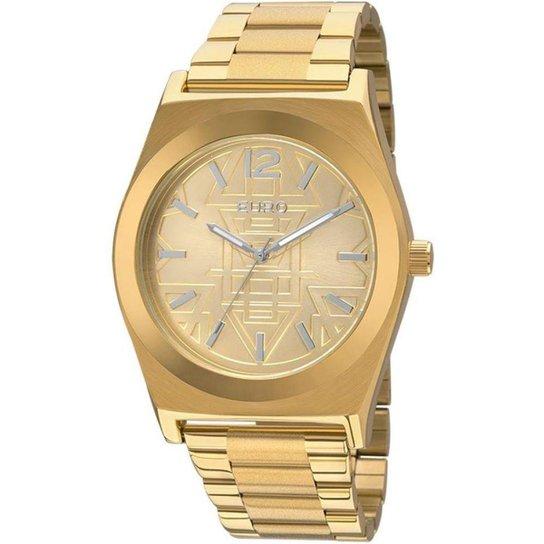 80560a13ffb Relógio Feminino Euro Analógico - Dourado - Compre Agora