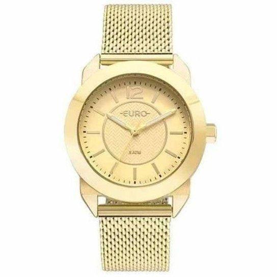 3bb114cb33511 Relógio Euro EU2036YLS 4D Feminino - Dourado - Compre Agora