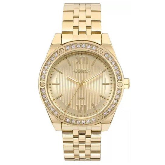 1eddea925f0 Relógio Feminino Euro Analógico Eu2035yno 4D - Dourado - Compre ...