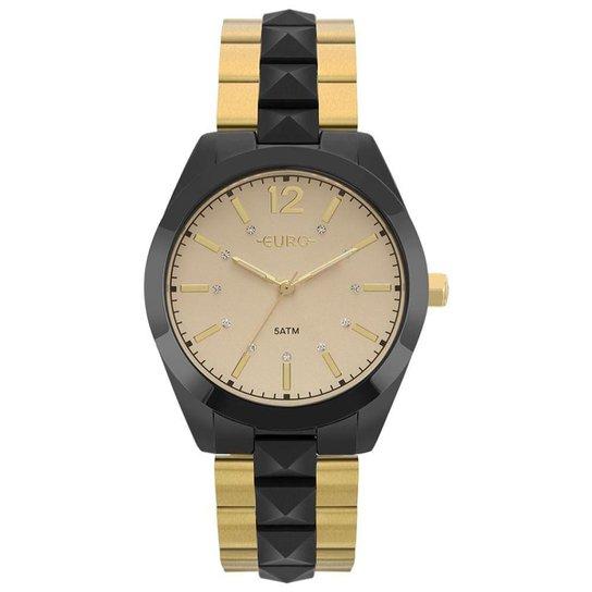 878c609e94e Relógio Euro Feminino Metal Glam - EU2036YMM 4D EU2036YMM 4D - Dourado