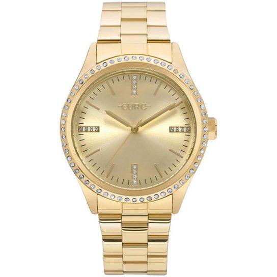 0fdabcc656b64 Relógio Euro Feminino Pedras - EU2035YNT 4D EU2035YNT 4D - Dourado ...