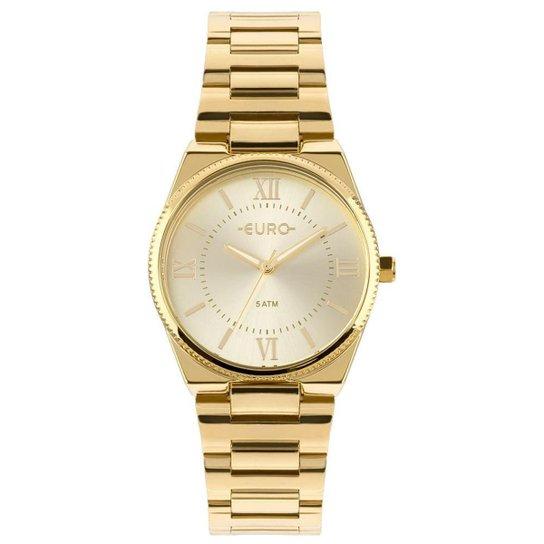 Relógio Euro Feminino New Basic - EU2035YPA 4D EU2035YPA 4D - Dourado 7820f82af6