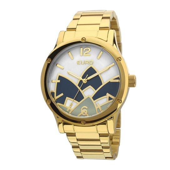 924914be766 Relógio Euro Feminino Madrepérola - EU2035YCX 4D EU2035YCX 4D - Dourado