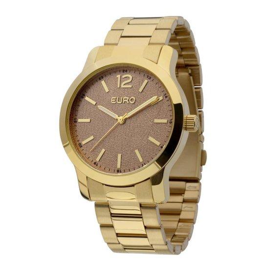 eaefb55b08 Relógio Euro Feminino Praha - Dourado - Compre Agora