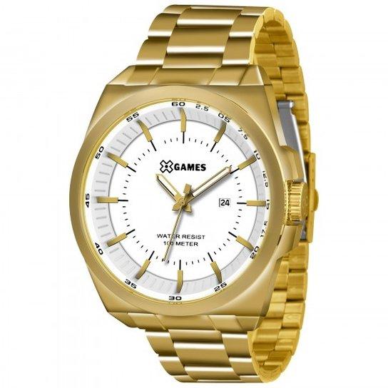 f1a56cf63c5 Relógio XGames XMGS1013 B1KX - Dourado - Compre Agora