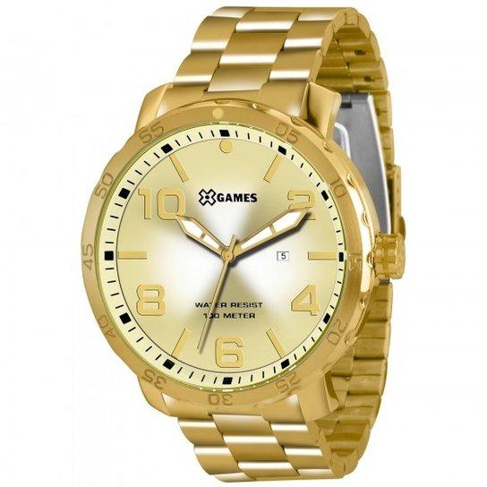 ff69382c5aa Relógio XGames XMGS1004 C2KX - Dourado - Compre Agora