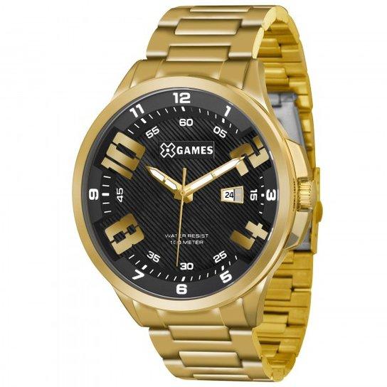 d22582248ff Relógio XGames XMGS1012 P2KX - Dourado - Compre Agora