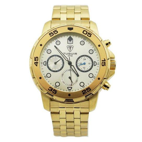 e27dc53866d Relógio Skmei Tuguir Analógico - Dourado - Compre Agora