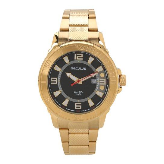 9c5eda43f Relógio Seculus Analógico Masculino 23561GPSVDA2 - Compre Agora ...