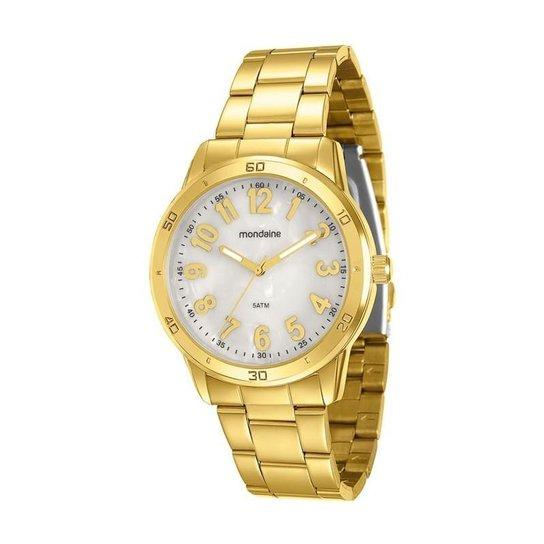 9ad277e62 Relógio Mondaine - 94773LPMVDE2 - Dourado - Compre Agora | Zattini