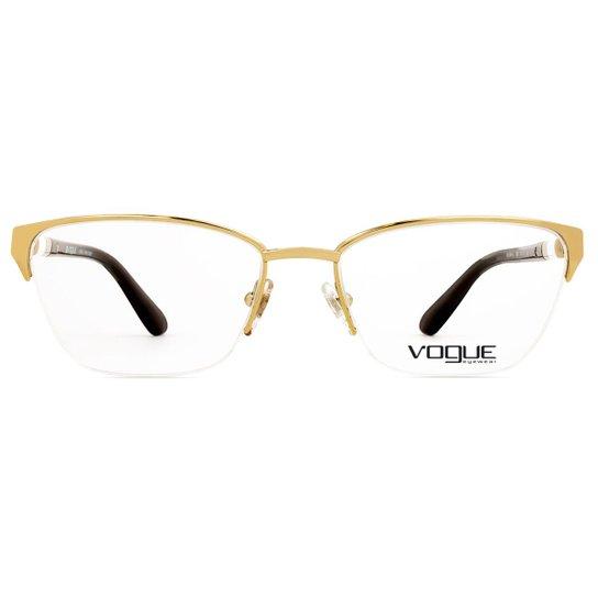 1bd5e13562fbd Armação Óculos de Grau Vogue Ocean Knot VO4041L 280-53 - Compre ...