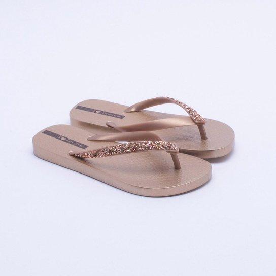 baedcabc4 Chinelo Ipanema Glam Special - Dourado - Compre Agora