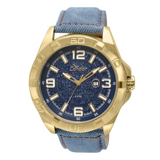 13f7937c0fe Relógio Condor Masculino CO2115VA 4A - Dourado - Compre Agora