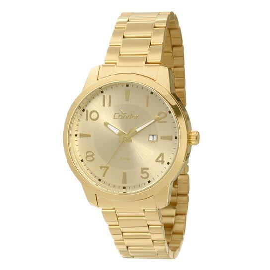 2fd2a1ac1d3a6 Relógio Condor Masculino CO2115TC 4X - Dourado - Compre Agora   Zattini