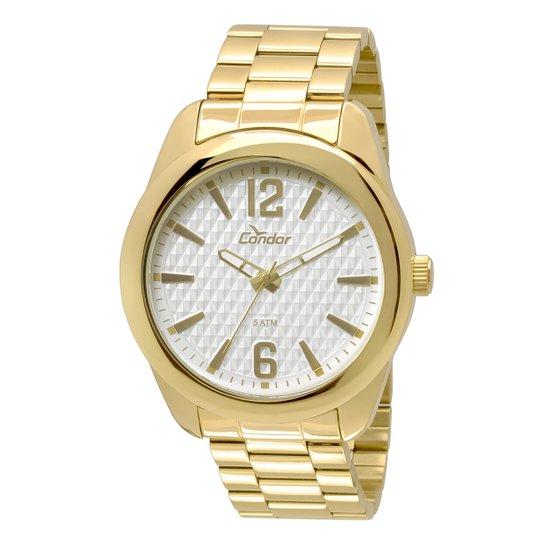 8a22d91b20d Relógio Condor Masculino CO2036DE 4B - Dourado - Compre Agora