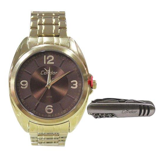 8bf3119a7b7 Relógio Masculino Condor Co2035kve K4m - Dourado - Compre Agora ...