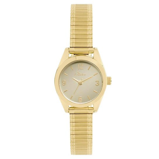 8cfb99ace047d Relógio Condor Feminino Eterna Mini - CO2036KUC 4D CO2036KUC 4D - Dourado
