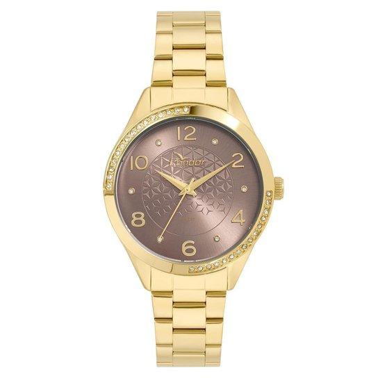 f19ce9a6bda Relógio Condor Feminino Bracelete - CO2035KWA 4M CO2035KWA 4M - Dourado