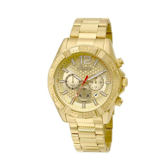 Relógio Condor Masculino Gradeados COVD33AR 4D - COVD33AR 4D - Dourado 1f3c76b3fc