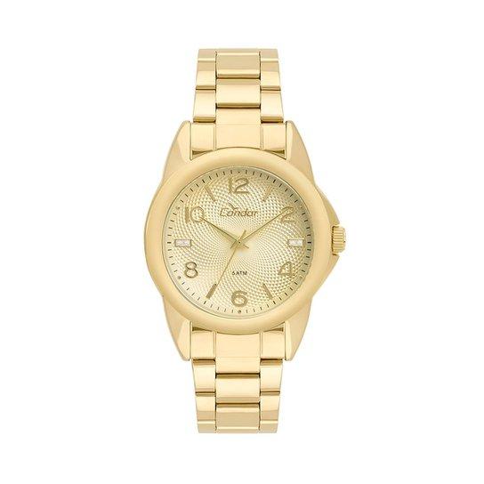 bbaa5db3df9 Relógio Condor Feminino Bracelete CO2035KUE K4D - Dourado CO2035KUE K4D -  Dourado