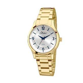 612998d327d Relógio Condor Feminino Braceletes COAL2036CN 4K - Dourado COAL2036CN 4K