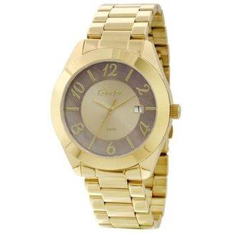 beb3e2b9618 Relógio Condor Feminino Dourado CO2115TE 4X CO2115TE 4X