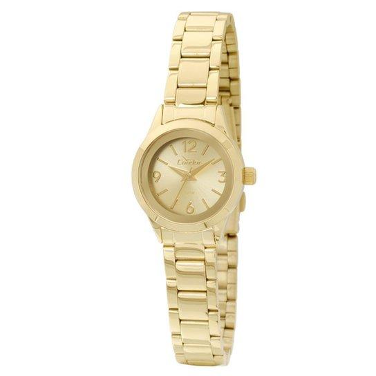 70d53ae2e03 Relógio Condor Feminino Analógico - CO2035KKT 4X CO2035KKT 4X - Dourado
