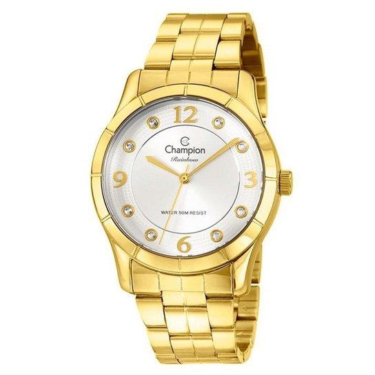0decb9da5f9 Relógio Champion Feminino Rainbow - CN29909H - Dourado - Compre ...