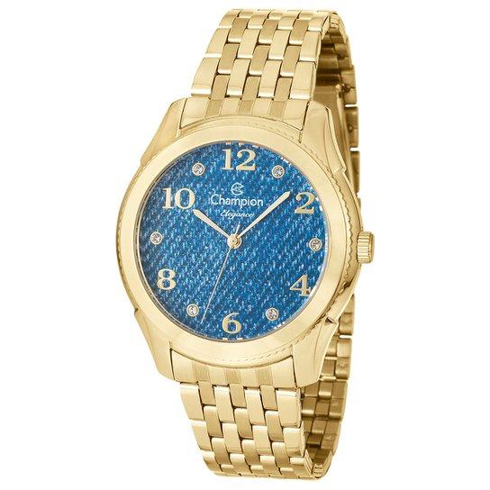 ba752005744 Relógio Champion Analógico CN26984 - Dourado - Compre Agora