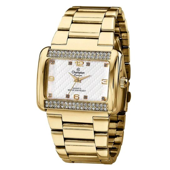 Relógio Champion Passion CN28651W + Kit de Brincos e Colar - Compre ... bbd7baba9d